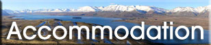 Accommodation listings in Lake Tekapo